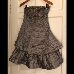 Sue Wong Nocturne strapless cocktail dress- 8